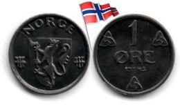 Norvège - 1 Øre 1943 - Norvège