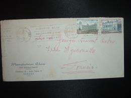 LETTRE TP 12 P + TP 7 P OBL.MEC.14 DIC 79 BURGOS + MANUFACTURAS CHARO LUIS SAGUILLO BALZA - 1931-Aujourd'hui: II. République - ....Juan Carlos I
