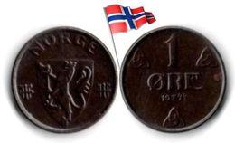 Norvège - 1 Øre 1944 - Norvège