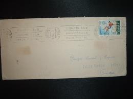 LETTRE TP JO MUNICH 1972 8 P OBL.MEC.8 FEB 73 SANTANDER - 1931-Aujourd'hui: II. République - ....Juan Carlos I