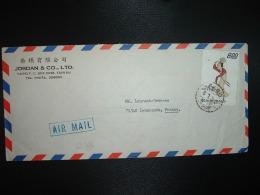 LETTRE TP 800 OBL.6 7 70 + JORDAN & CO à TAIPEI - 1945-... République De Chine