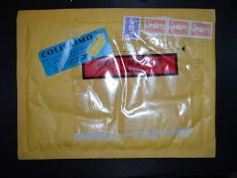 LETTRE COLISSIMO TP M. DE BRIAT 10,00 + 1,00 Bande De 3 OBL.7-1-1994 2 PLERIN PRINCIPAL COTES D'ARMOR - 1989-96 Marianne Du Bicentenaire