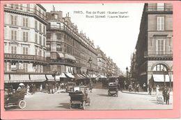 Paris - Rue De Rivoli Station Louvres Rivoli Street  Edit. Dix N°5172 - Arrondissement: 01