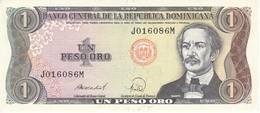 BILLETE DE LA REPUBLICA DOMINICANA DE 1 PESO ORO DEL AÑO 1988 EN CALIDAD EBC (XF) (BANKNOTE) - República Dominicana
