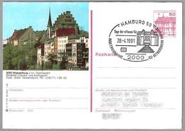 Puesta En Servicio DEPOSITO ICE. Ferrocarril - Railroad. Hamburg 1991 - Eisenbahnen