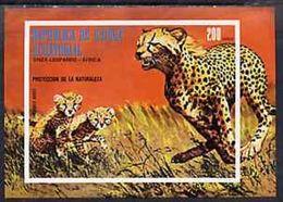Guinea Equat. 1976, Animals, Leopard, BF IMPERFORATED - Equatorial Guinea