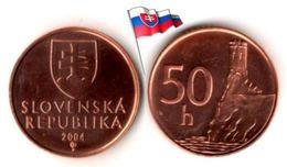Slovaquie - 50 Halierov 2004 (UNC) - Slovaquie