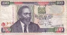 BILLETE DE KENIA DE 100 SHILINGI DEL AÑO 2010 (BANK NOTE) - Kenya