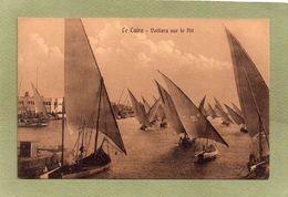 LE CAIRE    VOILIERS SUR LE NIL - Le Caire