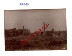 LILLE-PHOTO Mate Allemande-Cliche 512-Inf. Regt.182-GUERRE 14-18-1 WK-59-Militaria- - Lille