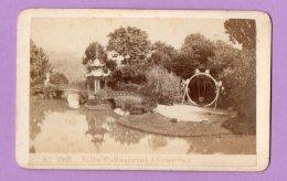 Fotografia D'epoca Su Cartoncino - Genova Villa Pallavicini - Plaatsen