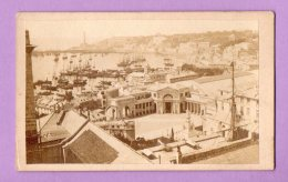 Fotografia D'epoca Su Cartoncino - Genova , Panorama - Luoghi