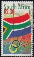 SOUTH AFRICA - Scott #1163 Sydney 2000 Olympic Games, South African / Used Stamp - Summer 2000: Sydney