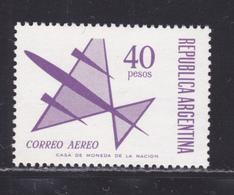 ARGENTINE AERIENS N°  126 ** MNH Neuf Sans Charnière, TB (D4751) Avion Stylisé - Airmail
