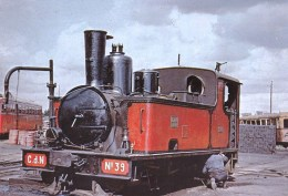 Chemins De Fer Regionaux Et Urbains - Chemin De Fer Des Cotes Du Nord -  Locomotive Corpet Louvet 030t N 39 - Trains