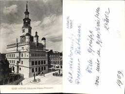 556917,Poland Stary Ratusz Museum Poznan Posen - Polen