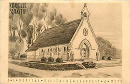 - Dpts Div.-ref-XX651- Moselle - Metz - Chapelle Saint Martin - A L Hopital Militaire Legouest - Hopitaux Militaires - - Metz