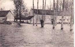 77 - Herme -  La Ferme De La Motte Bonno Inondee - 19 Fevrier 1910 - Andere Gemeenten