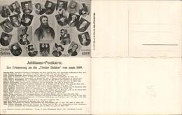 557317,Tiroler Freiheitskampf Klapp AK Andreas Hofer Tiroler Helden 1809 Speckbacher - Geschichte