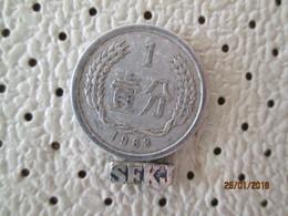 CHINA 1 Fen 1963 # 6 - China