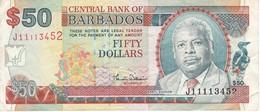 BILLETE DE BARBADOS DE 50 DOLLARS DEL AÑO 2007  (BANKNOTE) - Barbados
