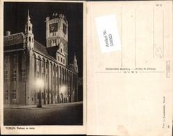 556923,Poland Torun Rathaus Bei Nacht - Polen