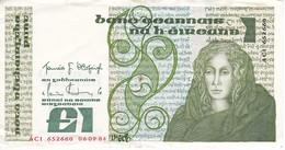 BILLETE DE IRLANDA DE 1 POUND DEL AÑO 1984  (BANKNOTE) - Irlanda