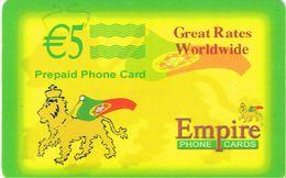 PHONECARDS-PORTUGAL ---  PRÉ PAID---EMPIRE PHONECARDS- CHAMADAS DE PORTUGAL - Portugal