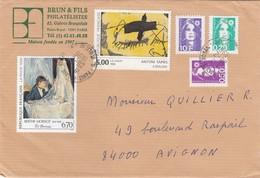 LETTRE.  RECOMMANDÉ PARIS  /  3 - Poststempel (Briefe)