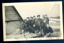 Photographie Originale Pilote Sur Son Planeur -- Avion Aviateur -- En 1951  SEP17-93 - Luchtvaart