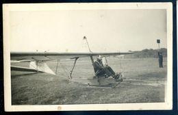 Photographie Originale Pilote Sur Son Planeur -- Avion Aviateur .. 1951  SEP17-93 - Luchtvaart