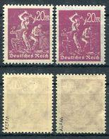 D. Reich Michel-Nr. 241x Und Y Postfrisch - Geprüft - Allemagne