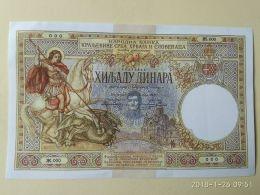 1000 Dinari 1920 COPIA - Serbia
