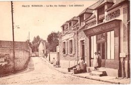 Echarcon - La Rue Des Sablons - Café Arnault - France