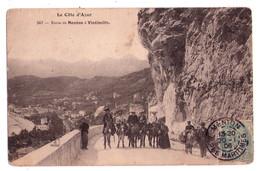 0317 - La Côte D'Azur - Route De Menton à Vintimille - N°247 - Menton