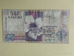 25 Rupees 1998 - Seychelles