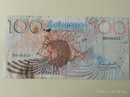 100 Rupees 1983 - Seychelles