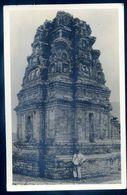 Cpa Carte Photo Indonésie Java Temple En 1937 SEP17-93 - Indonésie