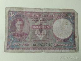 Ceylon 2 1948 - Sri Lanka
