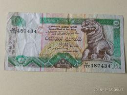 10 Rupees 1994 - Sri Lanka