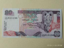 20 Rupees 2005 - Sri Lanka