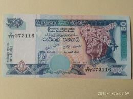 50 Rupees 2005 - Sri Lanka