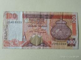 100 Rupees 2005 - Sri Lanka