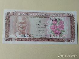 50 Cents 1984 - Sierra Leone