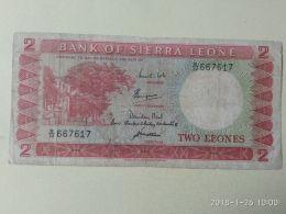 2 Leones 1964/70 - Sierra Leone