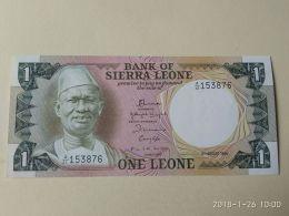 1 Leone 1984 - Sierra Leone