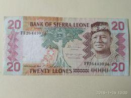 20 Leones 1984 - Sierra Leone