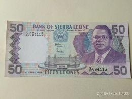 50 Leones 1989 - Sierra Leone