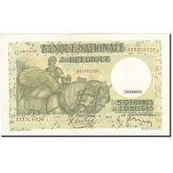 Billet, Belgique, 50 Francs-10 Belgas, 1933-1935, 1938-03-19, KM:106, SUP - 50 Francos-10 Belgas