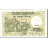 Billet, Belgique, 50 Francs-10 Belgas, 1933-1935, 1938-03-19, KM:106, SUP - [ 2] 1831-... : Regno Del Belgio